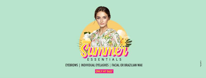 Eyebrows, Lashes and Facial/Brazilian Wax at just $65